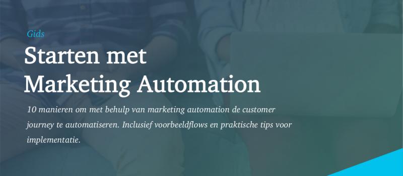 Starten met Marketing Automation Inferens